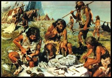 Campement du Paléolithique